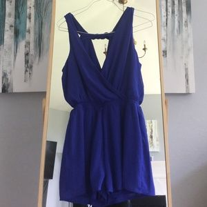 Blue One Clothing Romper